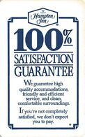 Hampton Inn & Suites Hotel Room Key Card - Cartas De Hotels
