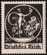 1920. DEUTSCHES REICH Overprint On BAYERN 20 M. Hinged. (Michel 138 I) - JF415486 - Neufs