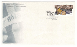 Canada Stamps Unaddressed FDC The Holocaust  Single Stamp 1995 - 1991-2000