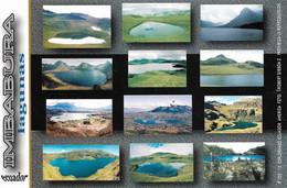 Equateur Lagunas De Imbabura Andes Ecuatorianos America (Carte Vierge) - Ecuador