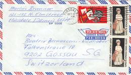 USA 1965 Hinsdale 12 Oct 1965 / Nach Switzerland - Cartas