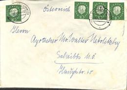 D - [909353]B/TB//-Allemagne 1959 - STUTTGART-VAIHINGEN - Lettres & Documents
