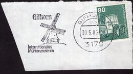 Deustchland - 1983 - Fragment Brief - Mit Lufpost - A1RR2 - Lettres & Documents