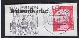 Deustchland - 1988 - Fragment Brief - Mit Lufpost - A1RR2 - Lettres & Documents