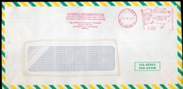 Brasil - 1990 - Lettre - Cachet Spécial - Affranchissement Mécanique - Momsen, Leonardos & CIA - A1RR2 - Cartas