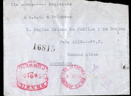 Brasil - Circa 1950 - Lettre - Cachet Spécial - Affranchissement Mécanique - A1RR2 - Lettres & Documents