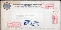 Brasil - 1990 - Lettre - Cachet Spécial - Affranchissement Mécanique - A1RR2 - Cartas
