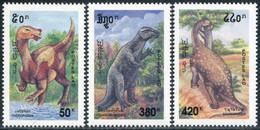 Laos 1994  YT 1157/59 ; Mi# 1435/37 MNH Dinosaurs - Laos