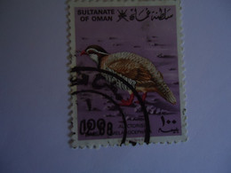 OMAN    USED   STAMPS  BIRD  BIRDS - Oman