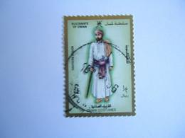 OMAN    USED   STAMPS  CUSTUMES MEN - Oman