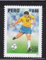 Peru 1994 Football World Cup MNH 1V - Pérou