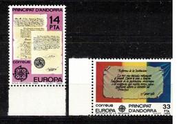 208Y * SPANISCH ANDORRA 153/4 * 2 FEINE WERTE EUROPA * POSTFRISCH **!! - Sin Clasificación