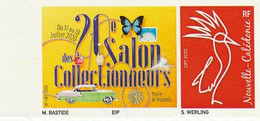 Nouvelle Calédonie Personnalisés 2020 20ème Salon Des Collectionneurs - Neufs