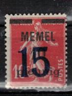MEMEL         N°  YVERT  38   NEUF AVEC CHARNIERES   (Charn  2/16 ) - Unused Stamps