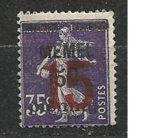 MEMEL         N°  YVERT  40  NEUF AVEC CHARNIERES   (Charn  2/17 ) - Unused Stamps