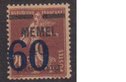 MEMEL         N°  YVERT  41  NEUF AVEC CHARNIERES   (Charn  2/17 ) - Unused Stamps