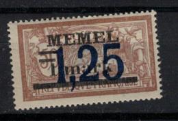 MEMEL         N°  YVERT  43  NEUF AVEC CHARNIERES   (Charn  2/18 ) - Unused Stamps