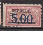 MEMEL         N°  YVERT  44  NEUF AVEC CHARNIERES   (Charn  2/18 ) - Unused Stamps