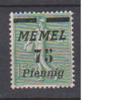 MEMEL         N°  YVERT  66  NEUF AVEC CHARNIERES   ( Charn  2/18 ) - Unused Stamps