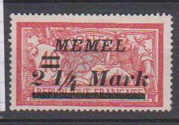 MEMEL         N°  YVERT  70  NEUF AVEC CHARNIERES   ( Charn  2/18 ) - Unused Stamps