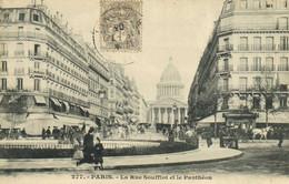 PARIS La Rue Soufflot Et Le Pantheon  Animée RV - District 04