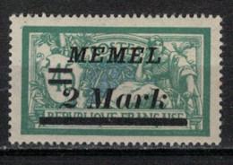MEMEL         N°  YVERT  69 A   NEUF AVEC CHARNIERES   ( Charn  2/18 ) - Unused Stamps