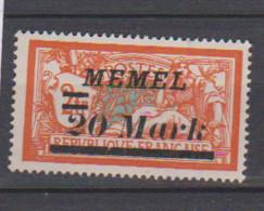 MEMEL         N°  YVERT 76 A   NEUF AVEC CHARNIERES   ( Charn  2/19 ) - Unused Stamps