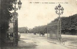 PARIS  Porte Dauphine Fiacres  RV - District 16