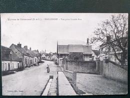 28 ,maillebois ,la Grande Route En 1927 ...scan Recto  Verso - Other Municipalities