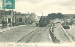 (02) Soissons : La Gare De Soissons-Port (avec Train) (petite Animation) - Soissons