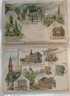 Lot De 2 Cartes -souvenir De Valenciennes-367 368 - Gruss Aus.../ Gruesse Aus...
