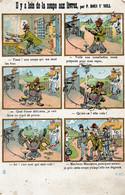 ILLUSTRATEUR  P.DOUS Y'NELL Il Y A Loin De La Soupe Aux Lèvres. - Other Illustrators