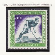 Monaco Poste Aérienne 1968 Y&T N°PA92 - Michel N°F488 *** - 3f Hockey Sur Gazon - Airmail