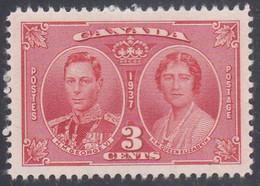 CANADA   SCOTT NO. 237   MNH   YEAR  1937 - Nuevos
