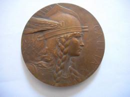 ANCIENNE MEDAILLE GALLIA, COMTE D'ALSACE PRINCE D'HENNIN, SENATEUR DES VOSGES, SIGNEE - Professionals / Firms