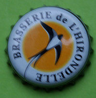1 Capsule De Bière  BRASSERIE DE L'HIRONDELLE - Beer