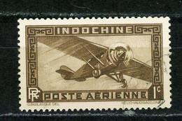 INDOCHINE RF - POSTE AERIENNE - N° Yvert 1 Obli. - Poste Aérienne