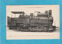 """Les Locomotives Françaises, Nord. Machine N°4.588 Dit """"Chameau"""" 8 Roues Accouplées. Service Des Manœuvres, Documentaire. - Treni"""