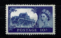 Ref 1476 - GB QEII - 10/= Castle MNH Stamp - SG597a - Ungebraucht