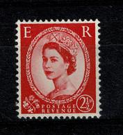 Ref 1476 - GB 1959 QEII Wilding - SG 591 - 2 1/2d Graphite Lines - Die II Mint Stamp - Ungebraucht