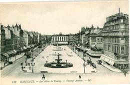 119. Bordeaux - Les Allées De Tourny Fontaine Et Place - Tourny Avenue - Bordeaux