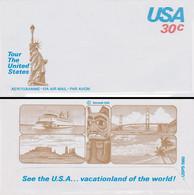 Tour The United States 30c – Neuf (non Circulé) Aérogramme Airmail Par Avion - Circa 1980 - Nuevos