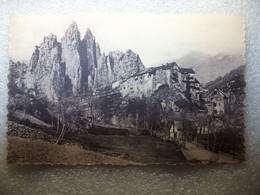 Carte Postale Route Des Alpes (06) Péone Et Ses Aiguilles ( Petit Format Noir Et Blanc Non Circulée ) - Sonstige Gemeinden