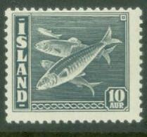 Iceland 1945; Fish (herring) - Michel 237.** (MNH) - Nuevos