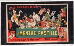 Publicité LA MENTHE PASTILLE Ets GIFFARD Angers (49) Au Tribunal De La Haye - Advertising