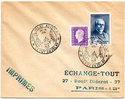 LOIRE / HAUTE - Dépt N° 43 = LE PUY En VELAY 1951 = CACHET TEMPORAIRE Illustré = FOIRE VELAY AUVERGNE - Cachets Commémoratifs