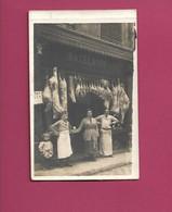 """CPA Boucherie """"Bazelaire"""" Sedan - Shops"""