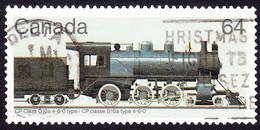 CANADA 1984 64c Multicoloured Canadian Locomotives FU - Usados