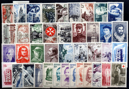 Año Completo De 1956  Francia - 1950-1959