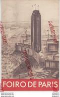 Fixe Langue Esperanto Foire De Paris Mai Juin 1930 Dépliant Plus Carte D'acheteur En Esperanto Très Bon état Rare - Programmi